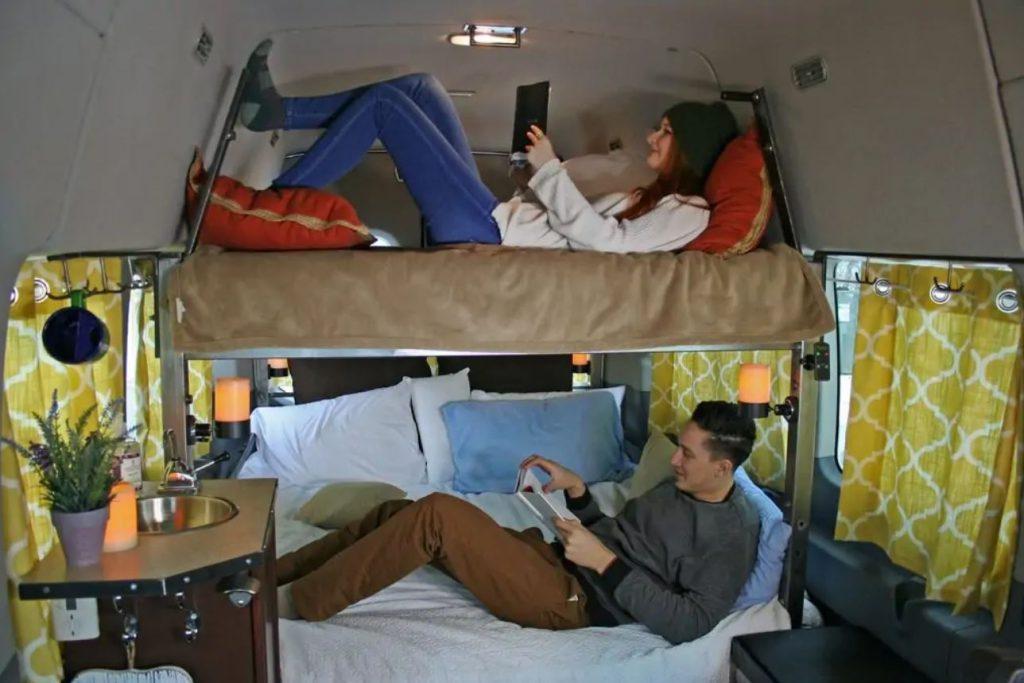 Wandervans DIY conversion kit for Mercedes Sprinter van
