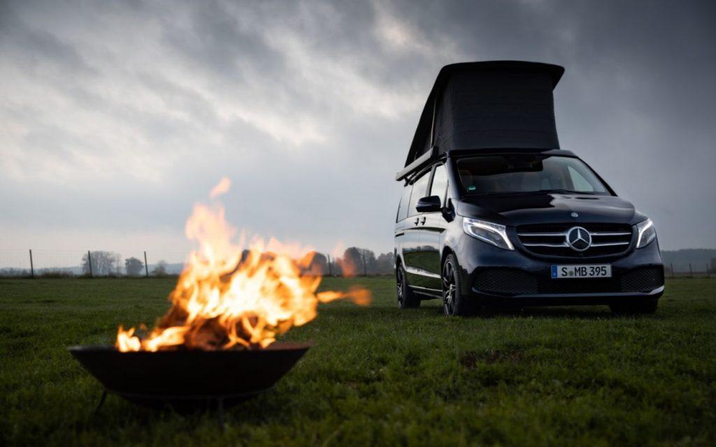 Mercedes Marco Polo MBUX smart camper van