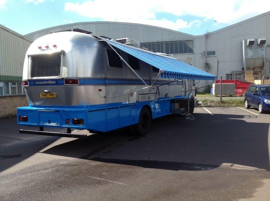 Mercedes 1617 Airstream Excella Custom built truck camper