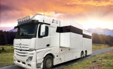RJH six wheeler six sleeper five horse truck motorhome