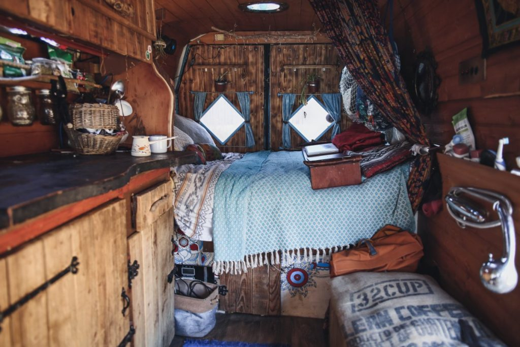 best camper van bedding options